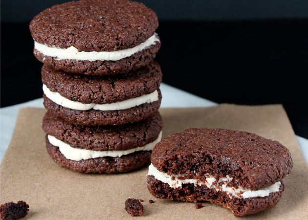 Homemade Oreos - Sweet Potato Chronicles