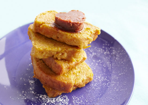 Pumpkin French Toast - Sweet Potato Chronicles