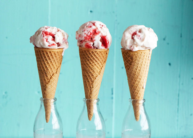 strawberryicecreamcone