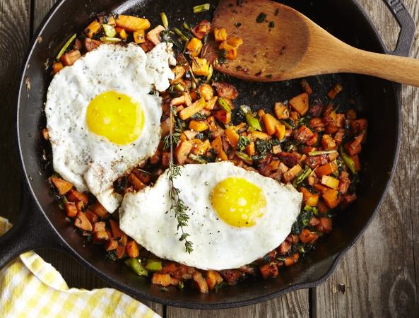 Sweet Potato Hash 40911