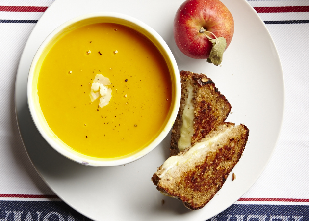 Sweet Potato Apple Soup